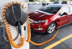 Зарядная станция для автомобиля